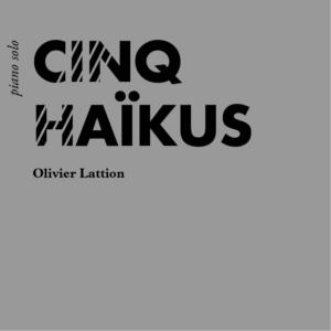 Cinq Haïkus, page de couverture