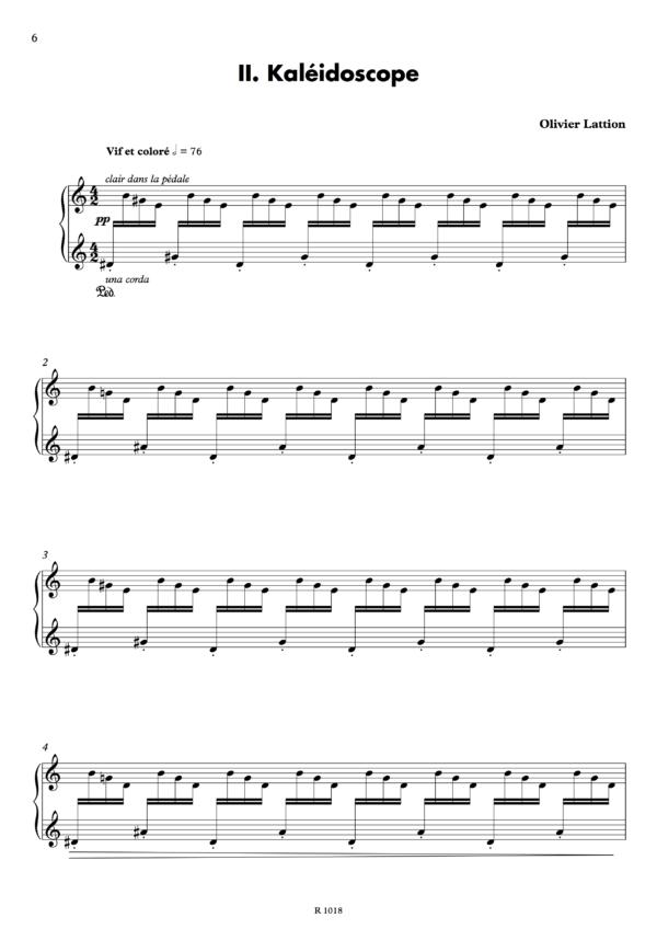 Kaléidoscope, page 1