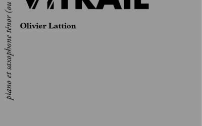 Vitrail, page de couverture
