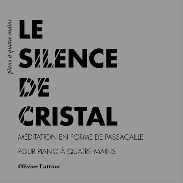 Le Silence de Cristal - page de couverture