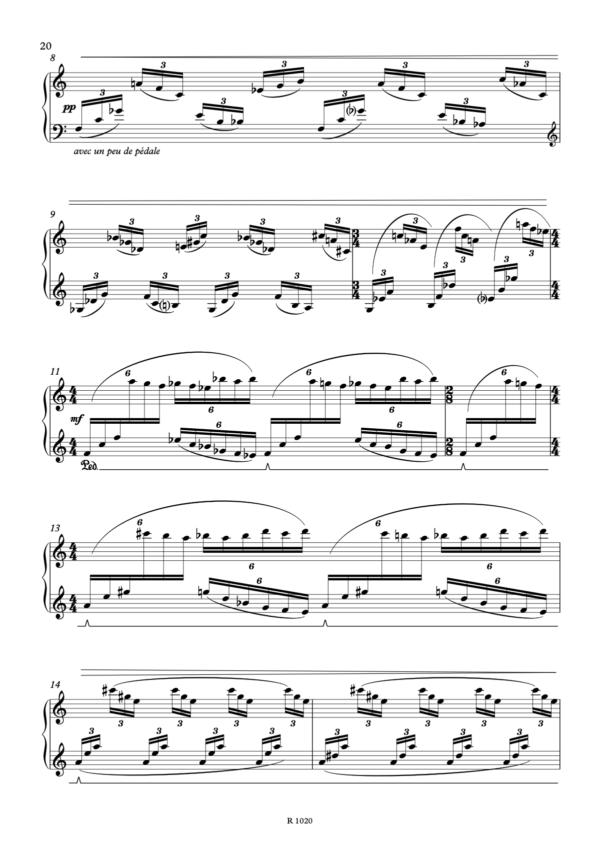 6. Eclairs et Nuées, page 2